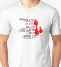 Kill Bill - Revenge Is Never A Straight Line T-Shirt