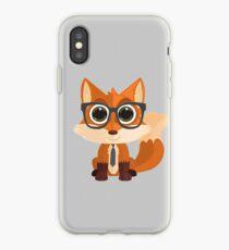 Fox Nerd iPhone Case