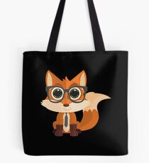 Fox Nerd Tote Bag
