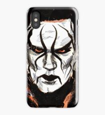 Rob S WWE Sting Painting iPhone Case/Skin