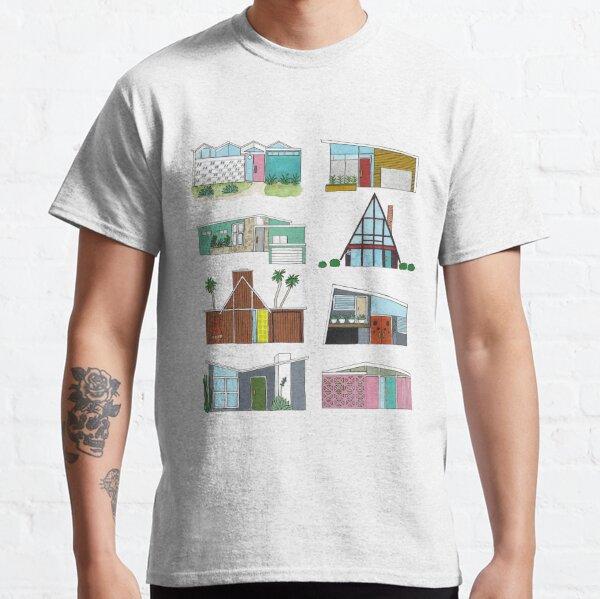 Mid Century Modern Houses Classic T-Shirt