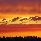 Autumn Clouds over New York City by Alberto  DeJesus