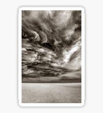 Uyuni salt flats skyscape, Bolivia Sticker
