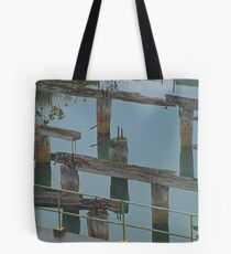 Old Wharf - HDR Tote Bag