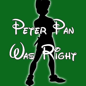 Peter Pan was right by BasiliskOnline
