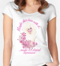 Trixie Mattel - Clinical Depression Women's Fitted Scoop T-Shirt