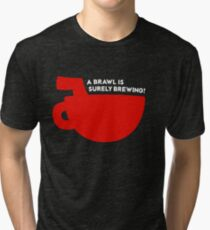 Cuphead® - Quote & Silhouette T-Shirt & Memorabilia Tri-blend T-Shirt