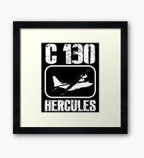 C 130 Hercules - Aircraft, Fighter Aircraft, Military Jet, Jet Plane Framed Print