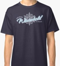 Visit Frosty Winterhold - It's MAGICAL! (tm) Classic T-Shirt
