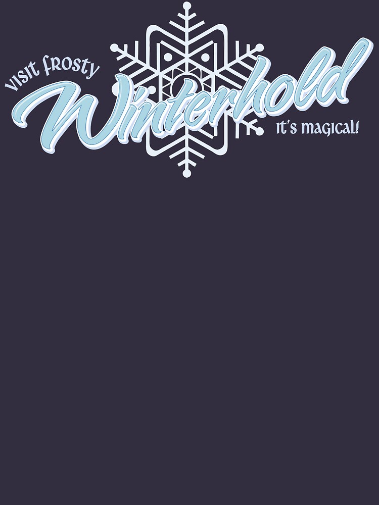 Visit Frosty Winterhold - It's MAGICAL! (tm) | Unisex T-Shirt