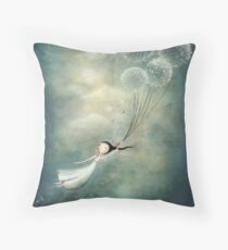 Away with the fairies  Throw Pillow