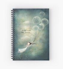 Away with the fairies  Spiral Notebook