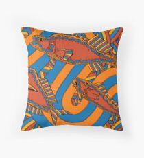 Aarli - (school of fish) lalin season (summer) Throw Pillow