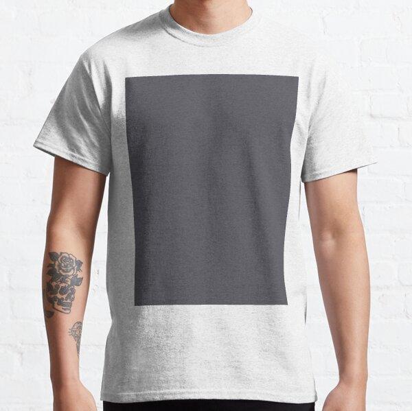 Bright Periscope grey solid colour Classic T-Shirt