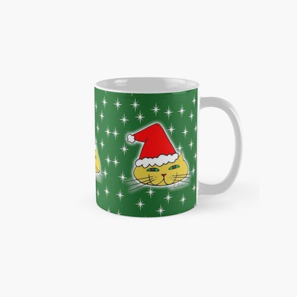 Christmas Santa Cat Classic Mug