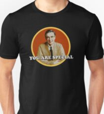fred rogers - grew up and fled as soon as he could, where Unisex T-Shirt