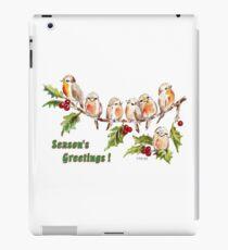 Season's Greetings!  7 Little Birds iPad Case/Skin