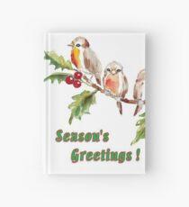 Season's Greetings!  7 Little Birds Hardcover Journal
