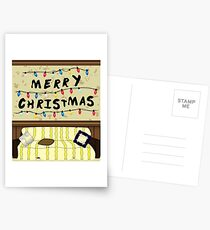 Merry Christmas - Stranger Things Postcards