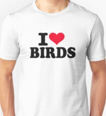 I love Birds Unisex T-Shirt