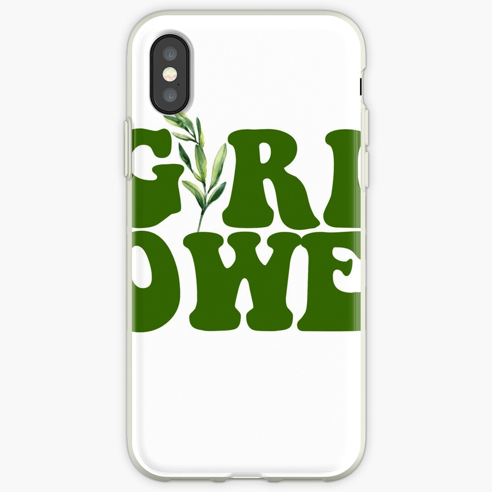 GIRL POWER - Estilo 10 Vinilos y fundas para iPhone