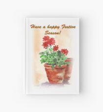 Have A Happy Festive Season! Hardcover Journal
