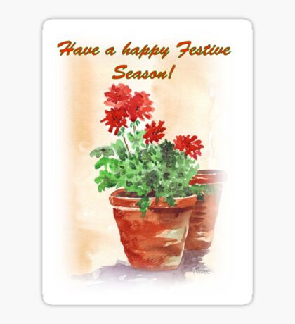 Have A Happy Festive Season! Sticker