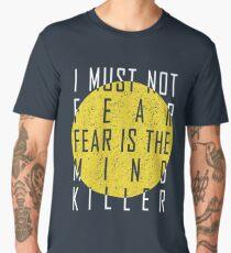 Dune - The Litany Against Fear (White) Men's Premium T-Shirt
