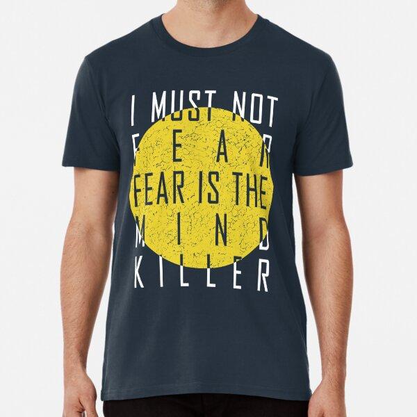Dune - The Litany Against Fear (White) Premium T-Shirt