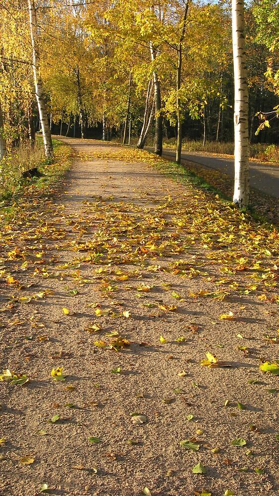 October Road by linderel