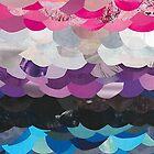 Genderfluid Flag Collage by Jennifer Frederick
