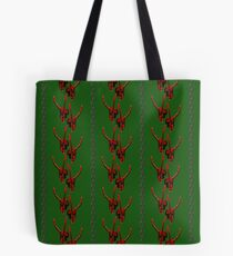 Season's Greetings from the Krampus (tiled pattern) Tote Bag