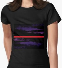 mirror  Women's Fitted T-Shirt