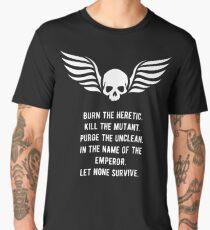 Let None Survive Warhammer 40000 Inspired Men's Premium T-Shirt