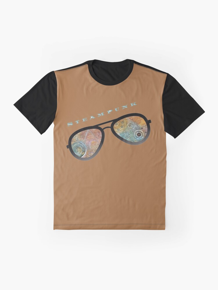 Alternate view of STEAMPUNK SUNGLASSES  Graphic T-Shirt