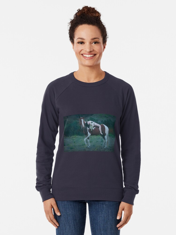 Alternate view of Where Dreams and Shadows Lie Lightweight Sweatshirt