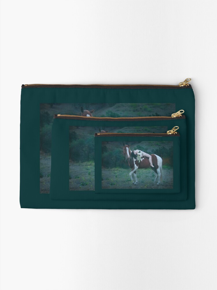 Alternate view of Where Dreams and Shadows Lie Zipper Pouch