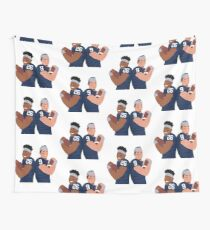 Saquon & Trace Wall Tapestry