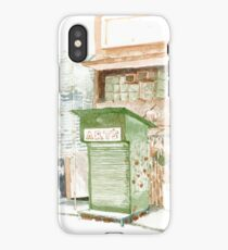 Hong Kong streetscape 2013 iPhone Case/Skin