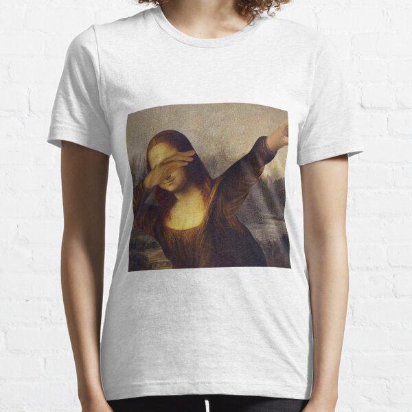 Mona Lisa dabbing Essential T-Shirt