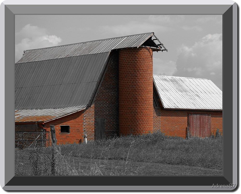 Old Red Barn by Adrena87