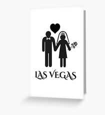 Wedding Las Vegas - Getting Married  Greeting Card