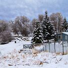 Snowy Ranch House by dogplay