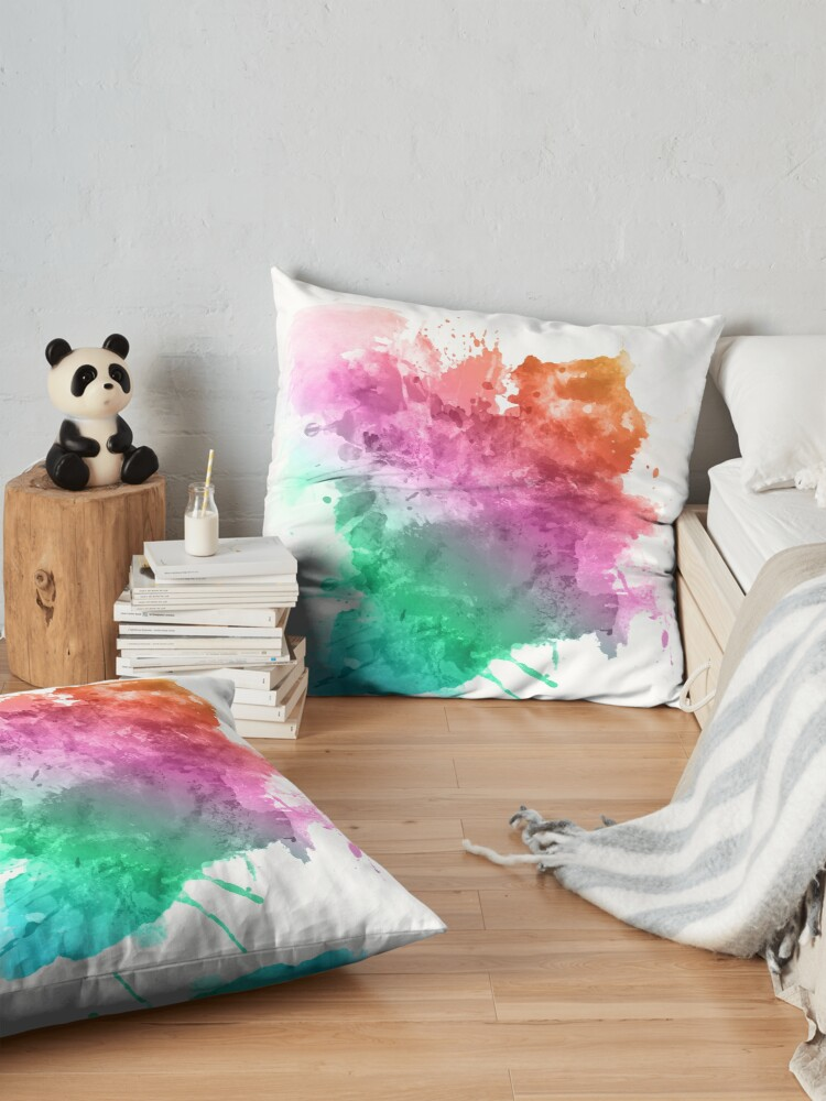 Alternate view of color Floor Pillow