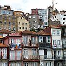 Porto Portugal The Ribeira District by Deirdreb