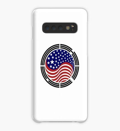 Korean American Multinational Patriot Flag Series Case/Skin for Samsung Galaxy