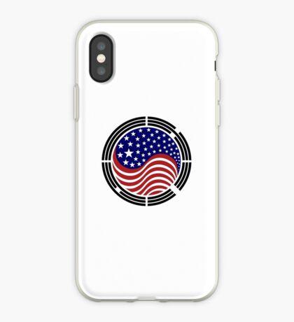 Korean American Multinational Patriot Flag Series iPhone Case