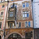 Prague Czech Republic Old Town Square by Deirdreb