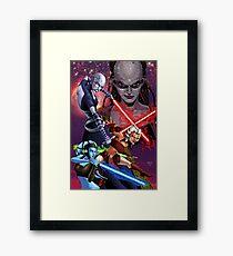 Star WarsThe Clone Wars Framed Print