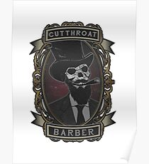 Cutthroat Barber Poster